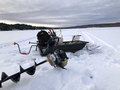 Guided Ice Fishing Trips